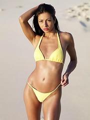 Brigi Yellow Bikini