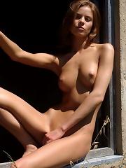 Vika in the sun
